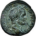 Ancients:Roman Imperial, Caracalla (AD 198-217). AE Sestertius...