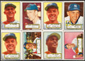 Baseball Cards:Lots, 1952 Topps Baseball High Number Collection (17)....