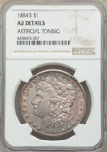 Morgan Dollars: , 1884-S $1 -- Artificial Toning -- NGC Details. AU. NGC Census: (1030/5656). PCGS Population: (1456/5571). CDN: $155 Whsle. ...