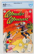 Golden Age (1938-1955):Superhero, Wonder Woman #47 (DC, 1951) CBCS VG 4.0 Off-white to white pages....