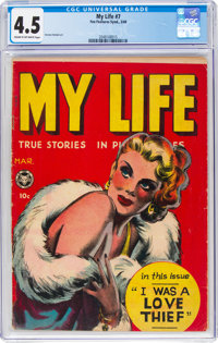 My Life #7 (Fox Features Syndicate, 1949) CGC VG+ 4.5 Cream to off-white pages