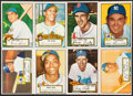 Baseball Cards:Lots, 1952 Topps Baseball Low Number Collection (66) With Pafko. ...