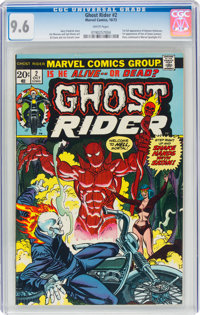 Ghost Rider #2 (Marvel, 1973) CGC NM+ 9.6 White pages