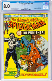 The Amazing Spider-Man #129 (Marvel, 1974) CGC VF 8.0 Off-white to white pages