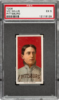 Baseball Cards:Singles (Pre-1930), 1909-11 T206 Sovereign 350 Vic Willis (Portrait) PSA EX 5 - Pop One, One Higher for Brand/Series. ...