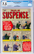 Silver Age (1956-1969):Adventure, Tales of Suspense #34 (Marvel, 1962) CGC VF- 7.5 Off-white to white pages....