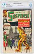 Silver Age (1956-1969):Superhero, Tales of Suspense #43 (Marvel, 1963) CBCS VG+ 4.5 Off-white to white pages....