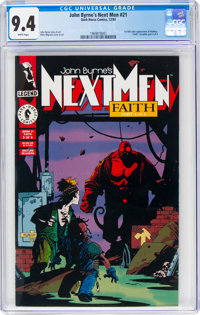 John Byrne's Next Men #21 (Dark Horse, 1993) CGC NM 9.4 White pages
