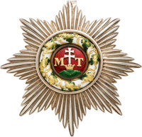 Hungarian Order of St. Stephen Breast Pin