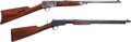 Long Guns:Slide Action, Lot of Two Winchester Rifles.. ... (Total: 2 Items)
