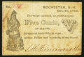 Obsoletes By State:New Hampshire, Rochester, NH- S.H. Feineman & Bro. 5¢ Oct. 20, 1862 Very Good-Fine.. ...