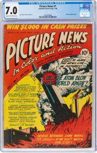 Picture News #1 (Lafayette Street Corp., 1946) CGC FN/VF 7.0 Cream to off-white pages