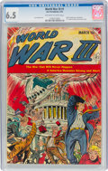 Golden Age (1938-1955):Science Fiction, World War III #1 (Ace, 1953) CGC FN+ 6.5 Off-white to white pages....