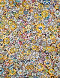 Takashi Murakami (b. 1962) MG: 1960-2012, 2012 Offset lithograph in colors on paper 27 x 20-3/4 i