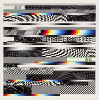 Felipe Pantone (b. 1986) Chromadynamica 61, 2018 Ink jet print in colors on paper 20 x 20 inches