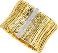Estate Jewelry:Bracelets, Diamond, Gold Bracelet, Orlandini. ...