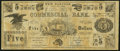 Obsoletes By State:New Hampshire, New Hampton, NH- New Hampton Institution $5 ND (ca. 1866-1870s) Very Fine.. ...
