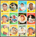 Baseball Cards:Lots, 1959 Topps Baseball Collection (447). ...