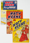 Golden Age (1938-1955):Humor, Katy Keene Group of 5 (Archie, 1952-86) Condition: Average GD/VG.... (Total: 5 )