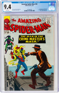 Silver Age (1956-1969):Superhero, The Amazing Spider-Man #26 (Marvel, 1965) CGC NM 9.4 White pages....