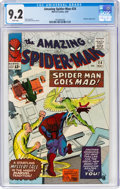 Silver Age (1956-1969):Superhero, The Amazing Spider-Man #24 (Marvel, 1965) CGC NM- 9.2 White pages....