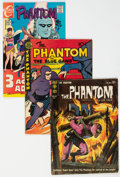 Silver Age (1956-1969):Adventure, Phantom Group of 49 (Various Publishers, 1948-77) Condition: Average VG/FN.... (Total: 49 )