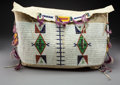 American Indian Art:Beadwork and Quillwork, A Sioux Beaded Hide Tipi Bag... (Total: 0 )