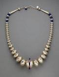 American Indian Art:Jewelry and Silverwork, A Navajo Necklace...