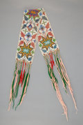 American Indian Art:Beadwork and Quillwork, A Great Lakes Loom-beaded Sash...