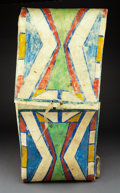 American Indian Art:Pipes, Tools, and Weapons, A Plains or Plateau Parfleche Envelope...