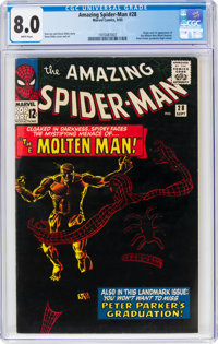 The Amazing Spider-Man #28 (Marvel, 1965) CGC VF 8.0 White pages