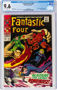Fantastic Four #63 (Marvel, 1967) CGC NM+ 9.6 White pages