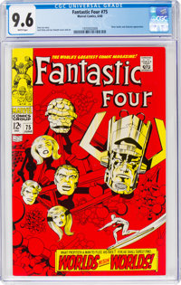 Fantastic Four #75 (Marvel, 1968) CGC NM+ 9.6 White pages