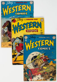 Golden Age Western Comics Group of 15 (Various Publishers, 1948-54) Condition: Average VG.... (Total: 15 Comic Books)