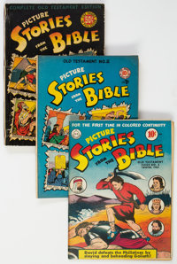 Picture Stories from the Bible Group of 8 (EC, 1942-47) Condition: Average GD/VG.... (Total: 8 Comic Books)