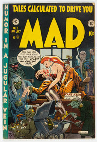 MAD #5 (EC, 1953) Condition: GD+