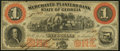 Obsoletes By State:Georgia, Savannah, GA- Merchants and Planters Bank $1 June 1, 1859 Remainder About Uncirculated.. ...