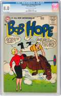 Silver Age (1956-1969):Humor, The Adventures of Bob Hope #39 (DC, 1956) CGC VF 8.0 Cream to off-white pages....
