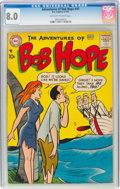 Silver Age (1956-1969):Humor, The Adventures of Bob Hope #45 (DC, 1957) CGC VF 8.0 Off-white to white pages....