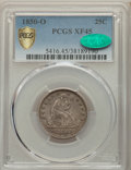Seated Quarters, 1850-O 25C XF45 PCGS. CAC. PCGS Population: (10/58 and 0/2+). NGC Census: (5/47 and 0/1+). CDN: $510 Whsle. Bid for problem...