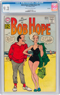 Silver Age (1956-1969):Humor, The Adventures of Bob Hope #75 Savannah Pedigree (DC, 1962) CGC NM- 9.2 Cream to off-white pages....