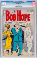 Silver Age (1956-1969):Humor, The Adventures of Bob Hope #81 Savannah Pedigree (DC, 1963) CGC NM 9.4 Cream to off-white pages....