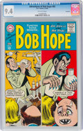 Silver Age (1956-1969):Humor, The Adventures of Bob Hope #92 Savannah Pedigree (DC, 1965) CGC NM 9.4 Off-white pages....