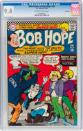 Silver Age (1956-1969):Humor, The Adventures of Bob Hope #99 Savannah Pedigree (DC, 1966) CGC NM 9.4 Off-white to white pages....