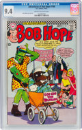 Silver Age (1956-1969):Humor, The Adventures of Bob Hope #106 (DC, 1967) CGC NM 9.4 Cream to off-white pages....