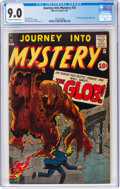 Silver Age (1956-1969):Horror, Journey Into Mystery #72 (Marvel, 1961) CGC VF/NM 9.0 Off-white to white pages....