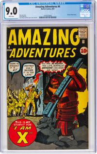 Amazing Adventures #4 (Marvel, 1961) CGC VF/NM 9.0 White pages