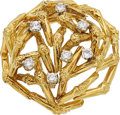 Estate Jewelry:Brooches - Pins, Diamond, Gold Brooch, Tiffany & Co. . ...