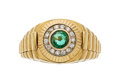 Estate Jewelry:Rings, Emerald, Diamond, Gold Ring, Mayor's. ...