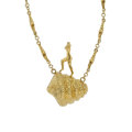 Estate Jewelry:Necklaces, Gold Necklace, Dali. ...